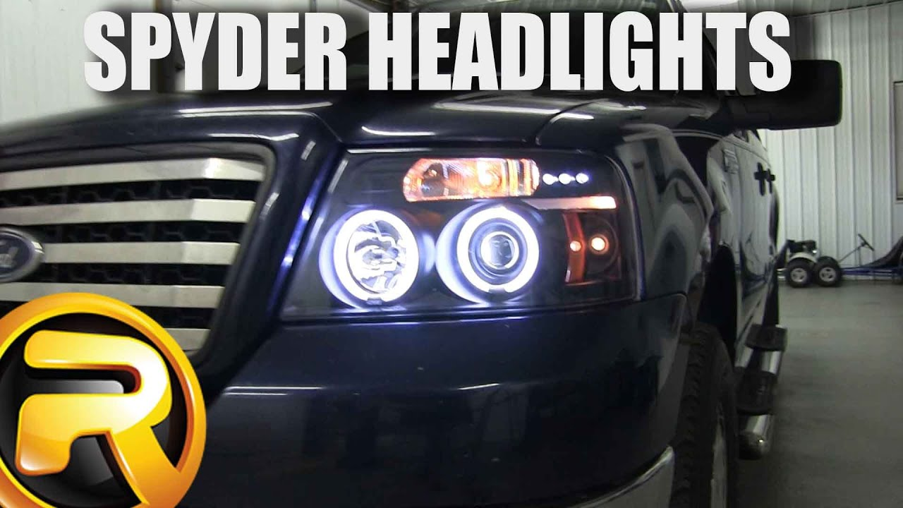 hight resolution of how to install spyder projector headlights