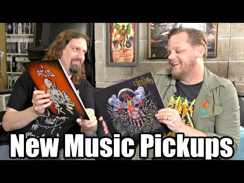 New MUSIC Pickups  - 27 Vinyl Records w/ Metal Jesus & Troy Nelson