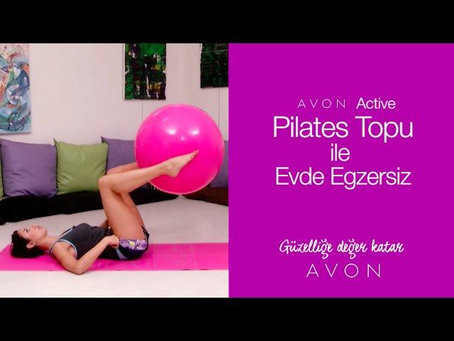 Pilates Topu İle Evde Egzersiz