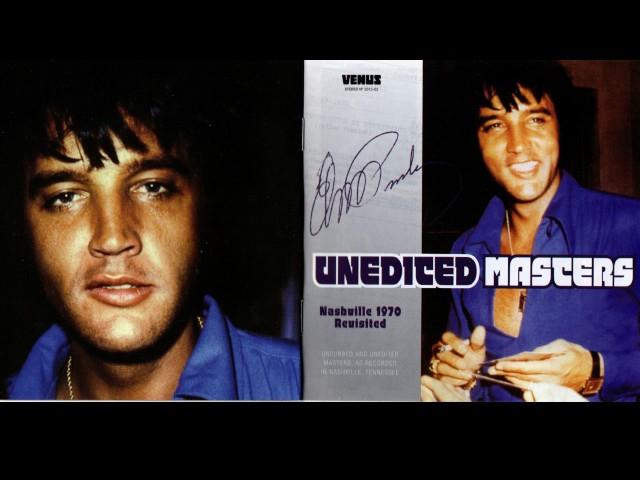 Elvis Presley - Unedited Masters - Nashville 1970 Revisited CD from Venus
