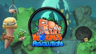 Worms Revolution #1 w/ Undecided, Tomek, Piotrek  | PC | Gameplay |