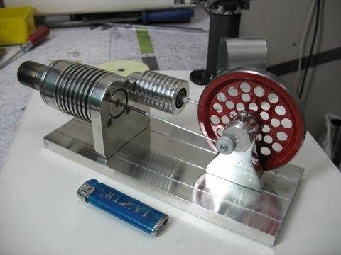 Двигатель стирлинга своими руками чертежи фото 220