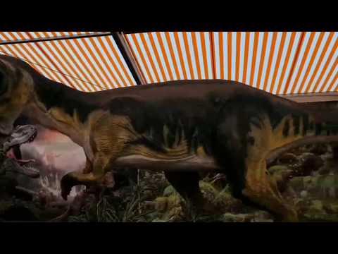 Los dinosaurios se apoderan de la Semana Verde de Silleda