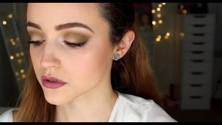 Matte Green & Mauve- Makeup Tutorial