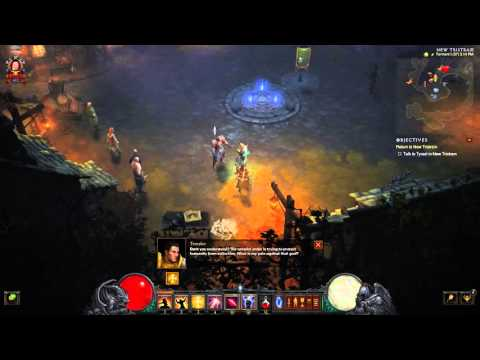 Diablo III Episode #4-2: Chatting with New Tristram Final