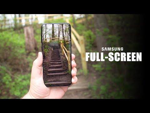 Samsung's FULL-SCREEN Smartphone Update