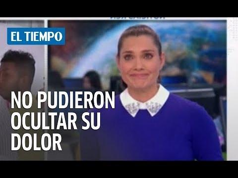 A presentadores de RCN se les quebró la voz al dar la noticia de la muerte de Jota Mario