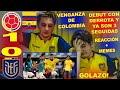 REACCIÓN COLOMBIA VS ECUADOR (1-0) / COPA AMÉRICA 2021 / LA VENGANZA DE LA SELECCIÓN COLOMBIANA