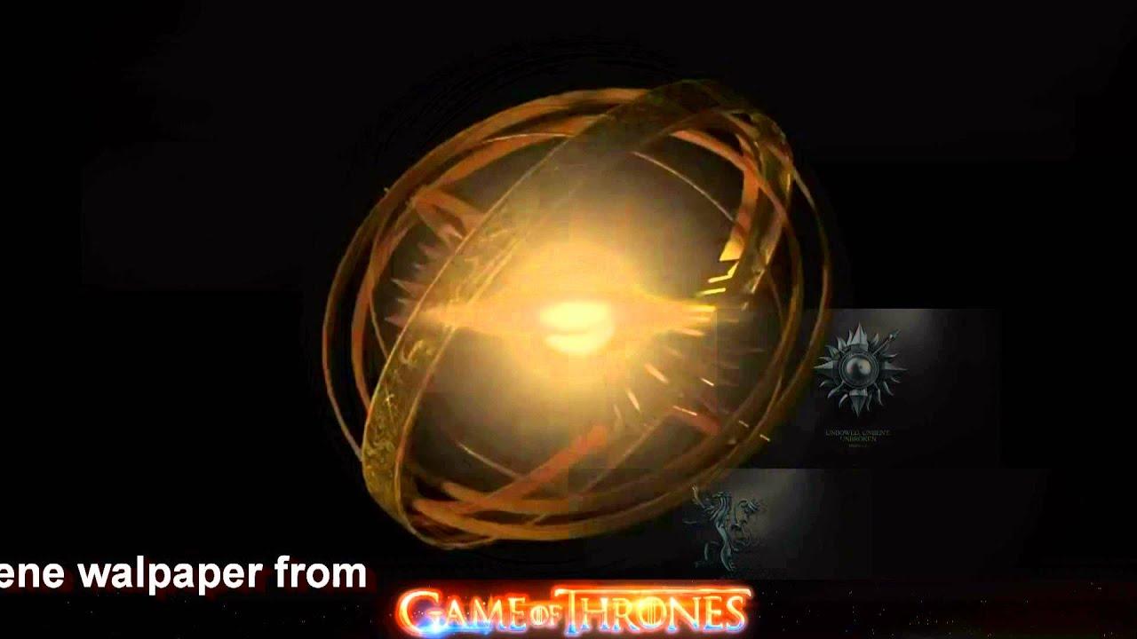 Dreamscene Animated Wallpaper Windows 7 Game Of Thrones Animated Wallpaper Dreamscene Youtube