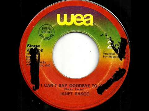 I Cant Say Goodbye To You-Janet Basco