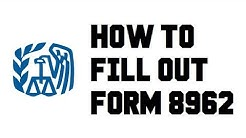 How to fill out Form 8962 Step by Step - Premium Tax Credit (PTC) Sample Example Completed
