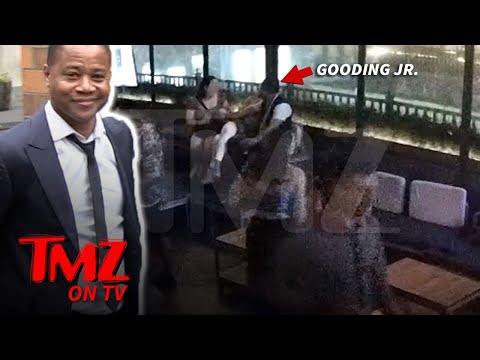 Cuba Gooding Jr  Puts Hand On Accuser In Surveillance Video | TMZ TV
