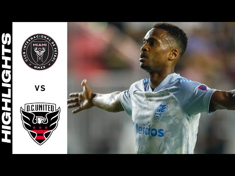 Inter Miami DC United Goals And Highlights