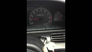 Malfunctioning Tachometer/Rev Counter on 1997 Nissan 180sx TypeX.