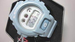 75dc3d3e076 G Shock DW 6900SG 2ER light blue Brandnew 2013 unboxing by TheDoktor210884
