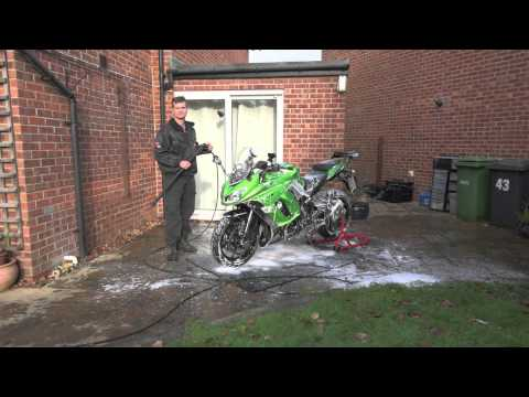 How to clean you motorcycle and protect it for up to a year! All Year Biker test