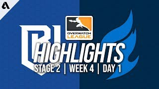 Boston Uprising vs Dallas Fuel | Overwatch League Highlights OWL Stage 2 Week 4 Day 1