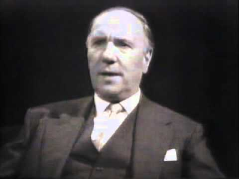 Ralph Richardson interviewed 1960s