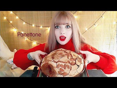 🇮🇹ITALIAN CHRISTMAS CAKE 🎁 PANETTONE MUKBANG 빠네또네 먹방