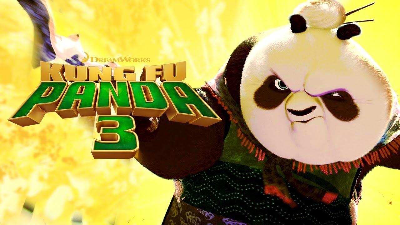 Po Teaches Kung Fu Grandma Panda Kung Fu Panda 3 Youtube