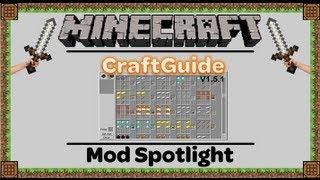 CraftGuide (V1.5) - Mod Spotlight