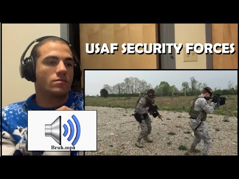 Infantryman Reacts To Air Force Security Forces