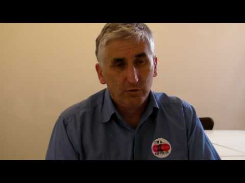 Steve Score (Trade Unionist & Socialist / Leicester West) General Election 2010 Interview (uncut)