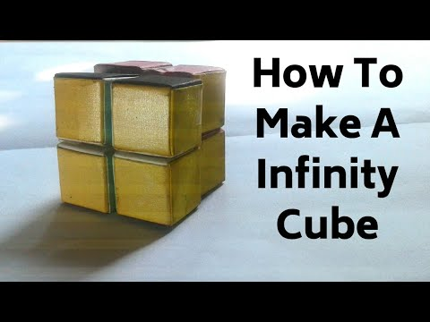 How To Make A Paper Infinity Cube