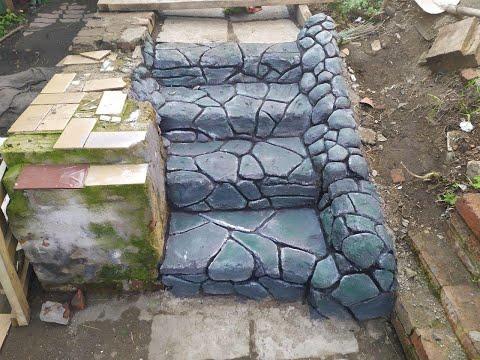 Как сделать ступеньки из бетона своими руками