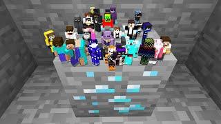 So I Shrunk 100 Kids in Minecraft...