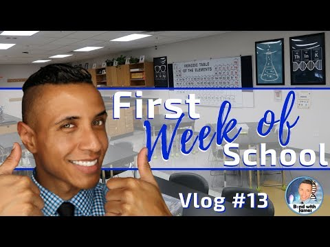 High School Science Teacher Vlog #13 | First Week of School for Students