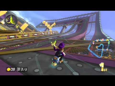MARIO KART 8 - DS Wario Stadium - 150cc Leaf Cup - No Commentary