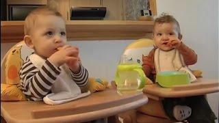 Conseils pour maman de jumeaux. La vie en double: à table