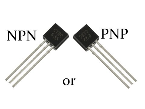 How To Identify An Pnp Or Npn Transistor Youtube