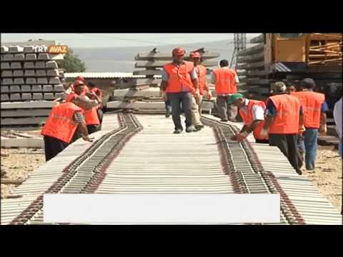 Bakü Tiflis Kars Demiryolu Projesi'nde...