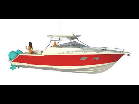 X33 Stepped Bottom Hull Sport Fishing BoatStepped Hull Sport Fishing Boat Design