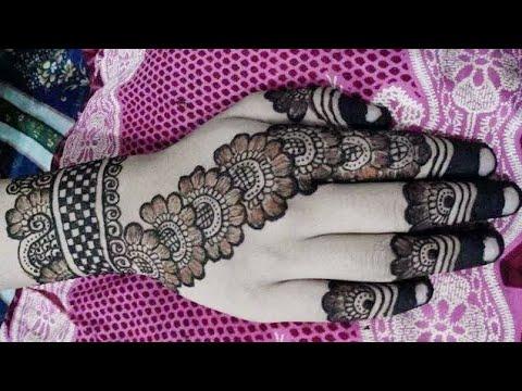 latest new year mehndi / mehndi design for hand/ beautiful special new mehndi design/ easy mehndi