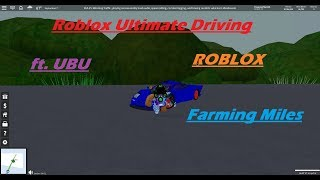 Roblox Ultimate Driving | Being a Citizen | EP. 7 | ft. UBU
