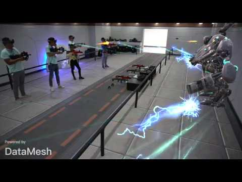 Alpha-117: Large Scale Mixed Reality Battle Simulation