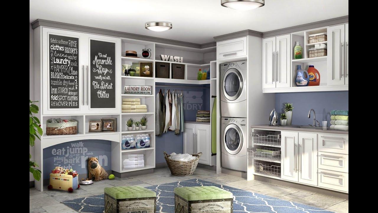 125 mejores dise os de cuartos de lavanderias youtube