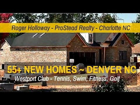 Westport Denver NC 55+ Patio Homes For Sale