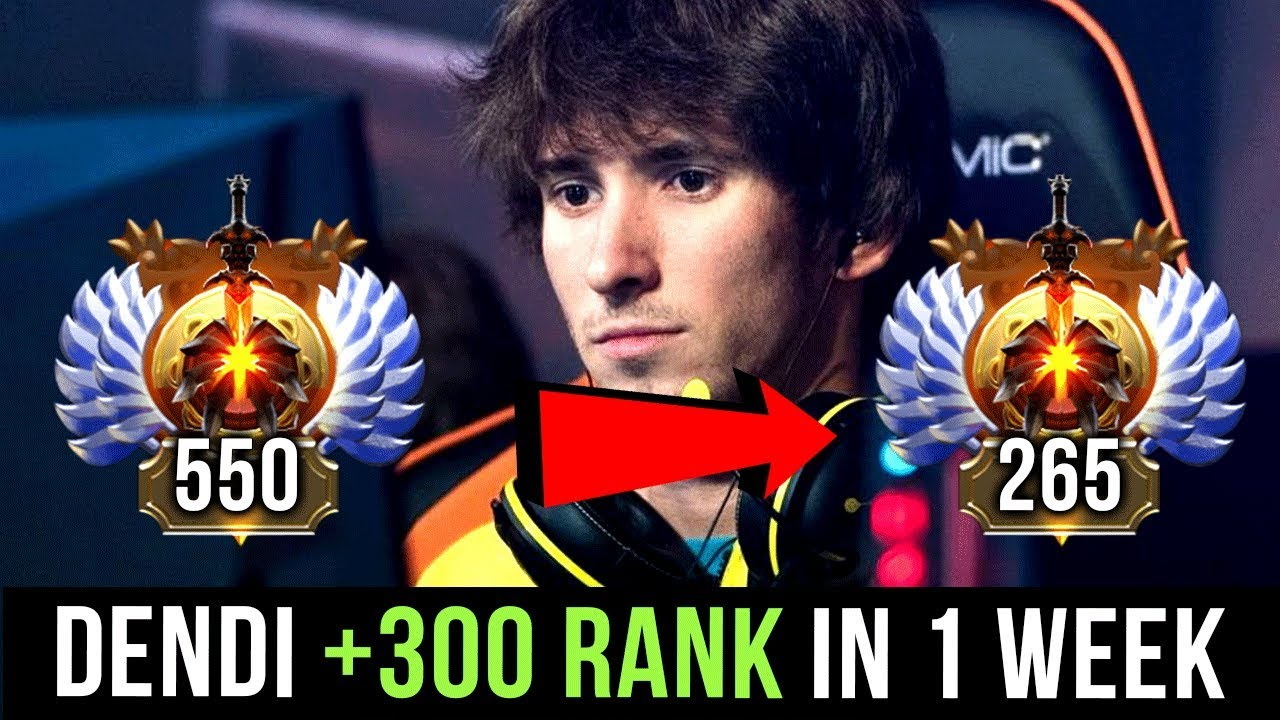 Dendi Our Favourite Dota  Player Back To Pro Dota Soon  Rank In  Days Mmr Just A Medal