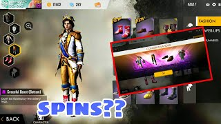 VALENTINES PARTY SURPRISE EVENT SPINS - GARENA FREE FIRE