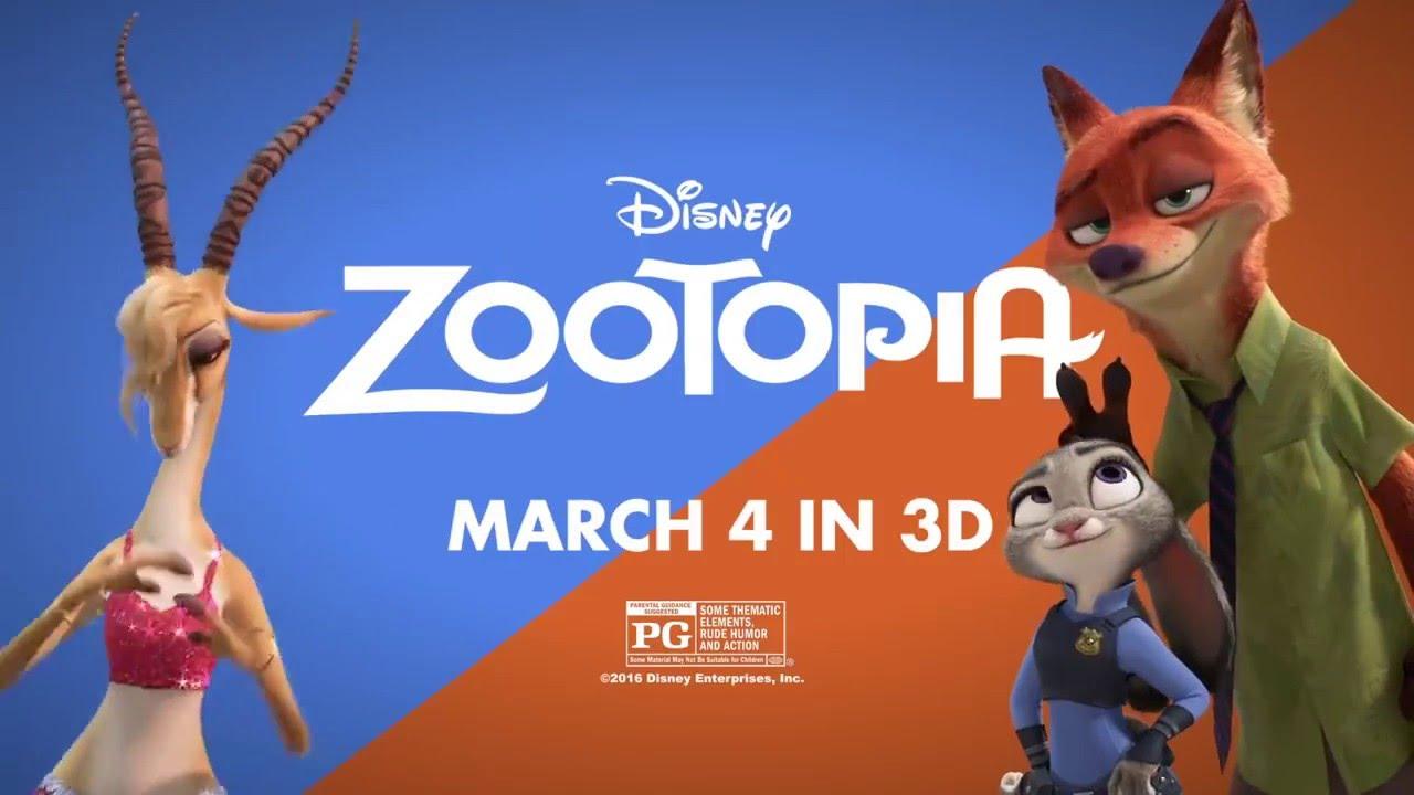 Gazelle, Shak's character from Zootopia