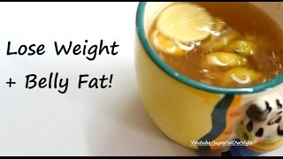 How to Lose Weight Fast + Belly Fat _ Detox Water for Weight Loss & Glowing Skin!