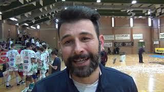07-04-2019: Matteo Zingaro tecnico della Trentino Volley dopo la Boy League 2019