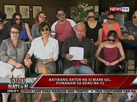 SONA: Batikang aktor na si Mark Gil, pumanaw sa edad na 52
