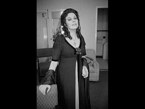 Magda Olivero vissi d'arte met 1975