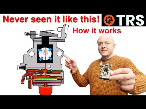 Crash course - How a Two Stroke Cycle Petrol Strimmer Carburetor Works/Primer Bulb