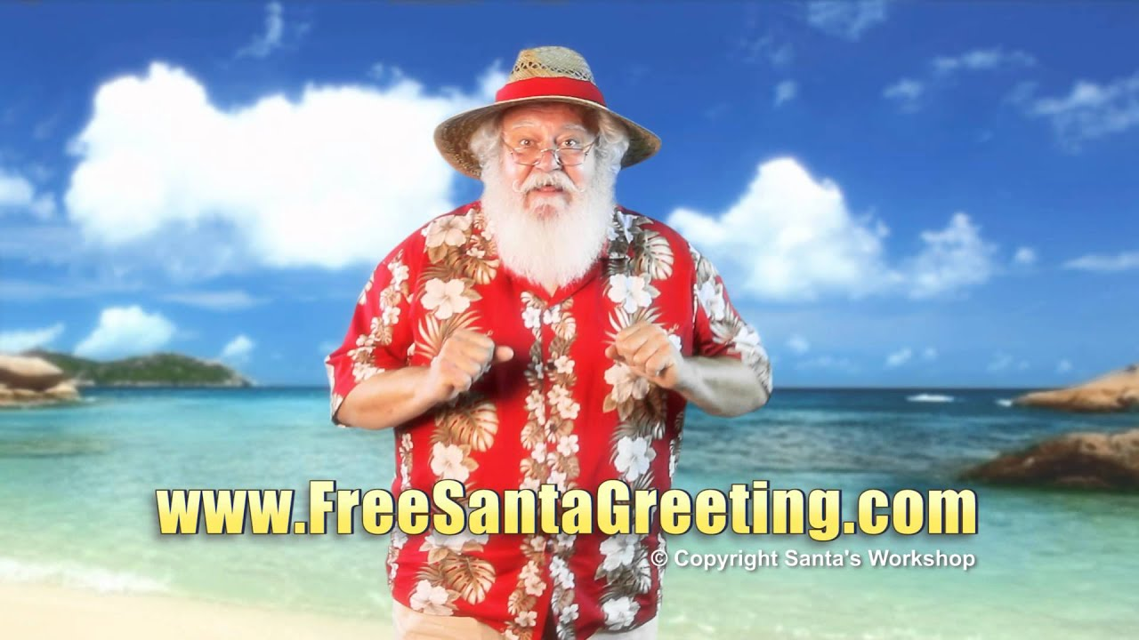 Free personalized video greeting from santa claus youtube kristyandbryce Choice Image